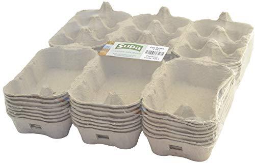 SUPA - Caja de Huevos (24 Unidades, Fibra Tradicional), 100%