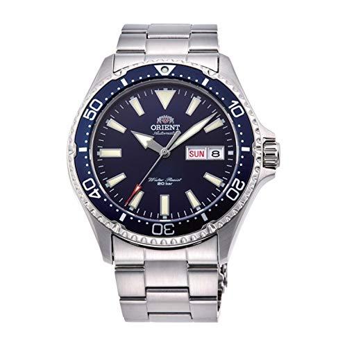 Orient Unisex Erwachsene Analog Automatik Uhr mit Edelstahl Armband RA-AA0002L19B