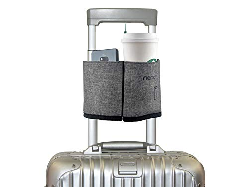 riemot Luggage Travel Cup Holder Free Hand Drink Caddy -...