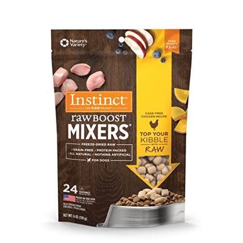 Instinct Freeze Dried Raw Boost Mixers Grain Free...