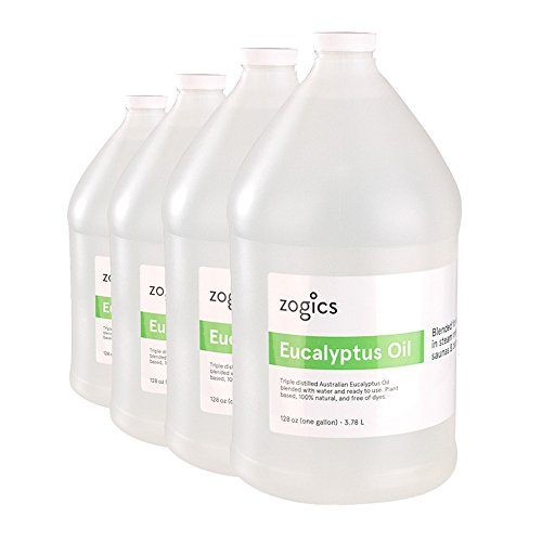 Zogics Eucalyptus Steam Room Spray (4 Gallons/Case)
