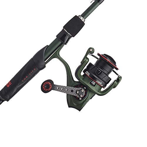 Abu Garcia Zata Spinning Reel and Fishing Rod Combo Green, 30 Size Reel - 7' - M - 1pc