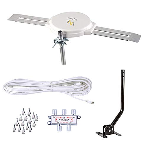41ZPaeewsEL - Best Outdoor TV Antennas for Rural Areas To Buy In 2020