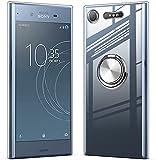 Sony Xperia XZ1 ケース クリア TPU 軽量 薄型 リング付き SO-01K SOV36 カバー スマホケース ……