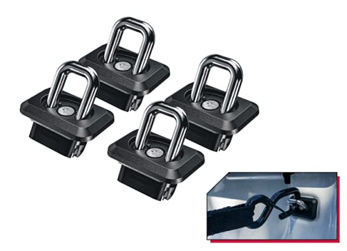 BullRing USA Chevy/GMC Inner-Bed Retractable Truck Bed Tie-Down Anchors   2007+ Chevy Silverado and GMC Sierra   2015+ Chevy Colorado and GMC Canyon  