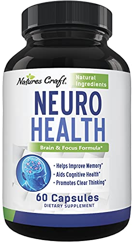 Nootropics Brain Supplement Support - Memory Booster for...
