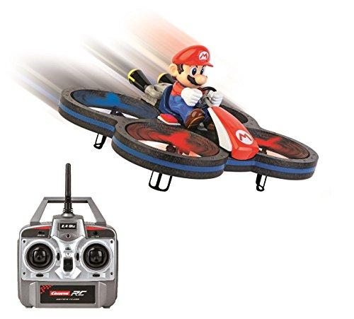 Carrera Toys RC Kart Drone radiocomandato Super Mario, Multicolore, 370503007