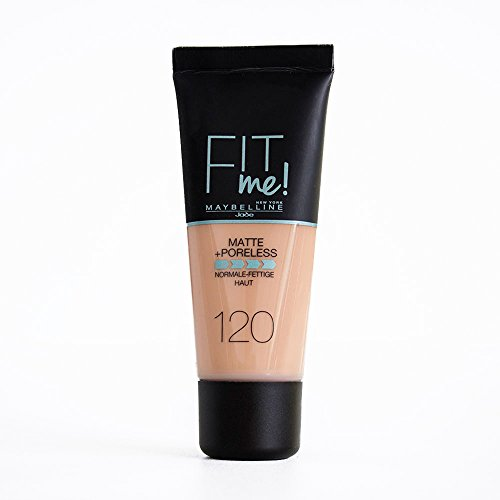 Maybelline New York Fit Me Matte + Poreless Foundation - 120 Classic Ivory