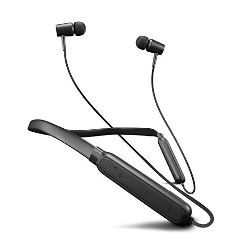 Wireless Earphones Headphones for vivo V17 (India) Sports Bluetooth Wireless Earphone with Deep Bass and Neckband Hands-Free Calling inbuilt Mic Headphones with Long Battery Life and Flexible Headset