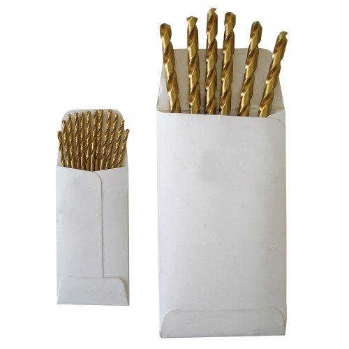 Disston E0100938 Titanium Jobber Length Drill Bits-Bulk/Envelope, Daimeter 15/32-Inch, Sold In Envelopes, 6 Units/Envelope
