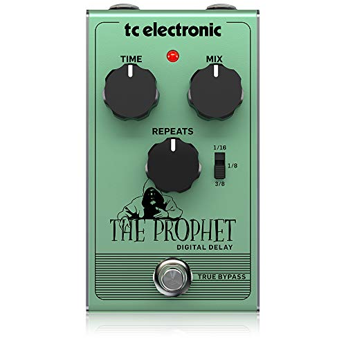 TC Electronic The Prophet Digital Delay Guitar Effect Pedal