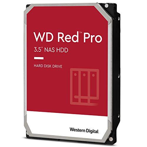 "WD Rot Pro 4TB 3.5"" NAS Interne Festplatte - 7200 RPM - WD4003FFBX"
