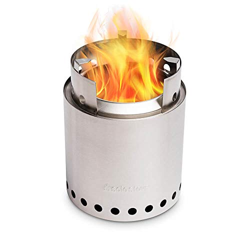 Solo Stove Campfire - 4+ Person Compact Wood Burning Camp Stove