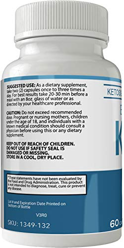 Evoelite Keto Pills 800mg Advanced Ketones BHB Ketogenic Supplement for Weight Loss Pills 60 Capsules 800 MG GO BHB Salts to Help Your Body Enter Ketosis More Quickly 2