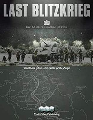 First in MMP's (Gamer's) Battalion Combat Series of Games Large, 4-map, 6 countersheet game of the Battle of the Bulge, 16-31 December 1944, at battalion level Includes 5 1-map, 4 2-map and 2 4-map scenarios Game system has the duel aim of high playa...