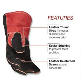 Lincoln-Electric-Traditional-MIGStick-Welding-Gloves-14-Lined-Leather-Kevlar-Stitching-K2979-ALL