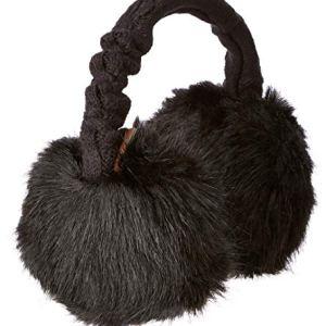 Barts Ladies Fur Earmuffs Black One Size