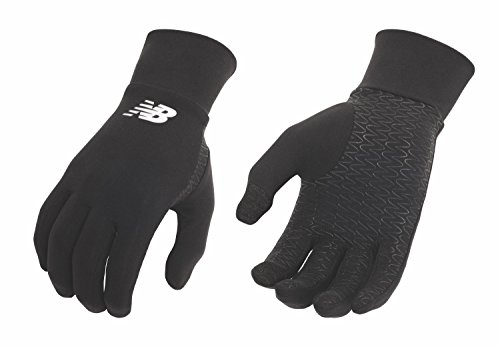 New Balance Lightweight Running Gloves (Black, Large)