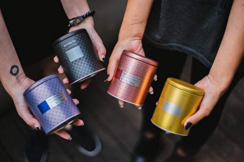 Chá sencha chamomile lata 100gr, tea connection