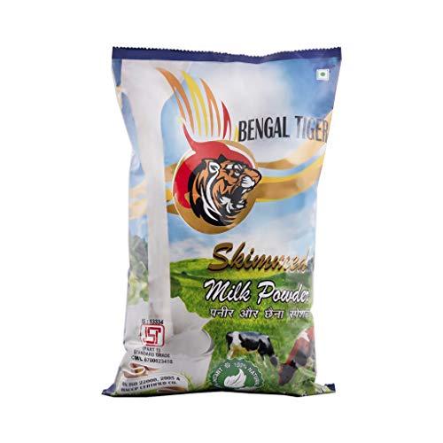 Mahaan Bengal Tiger Skimmed Milk Powder 1KG Pouch