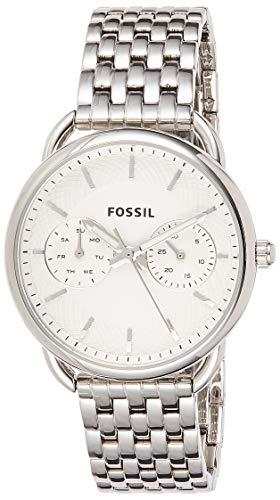 Fossil Damen Analog Quarz Uhr mit Edelstahl Armband ES3712