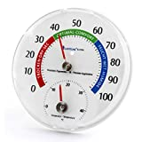 Lantelme Thermo-hygromètre - Système combiné hygromètre/thermomètre...