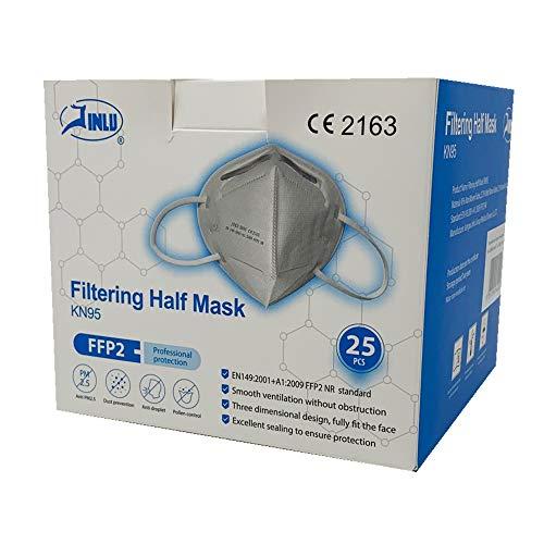 Mascherina Ffp2 Kn95 JINLU- 209 g, 25 pezzi