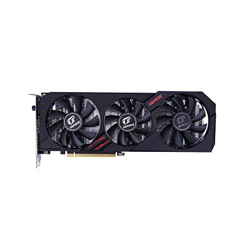 GUOJIAYI Colorful GeForce GTX 1660Ti Ultra Scheda grafica Nvidia GPU GDDR6 6G GTX 1660 Ti Scheda video 192 bit PCI-E 3.0 per PC da gioco