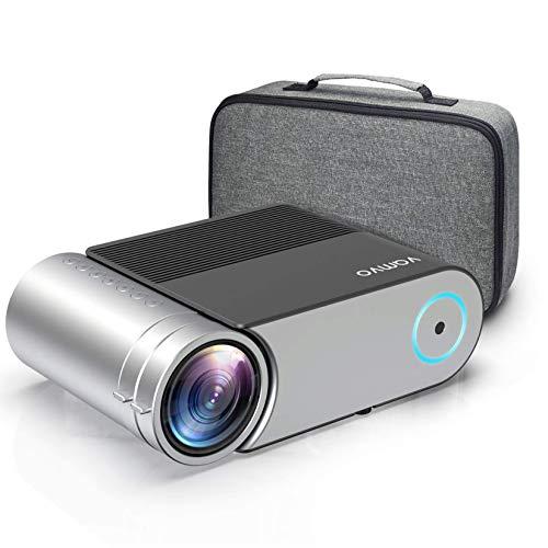 Proiettore, Vamvo Videoproiettore Portatile Full HD 1080p, Display da 200' Supportato,Mini...