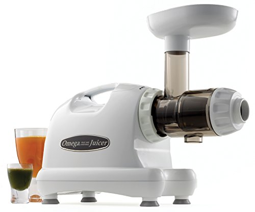 Omega Slow Speed Masticating Juicer, White (Discontinued by...