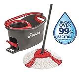 Vileda Easy Wring & Clean Turbo balai à frange + seau à pédale - set...