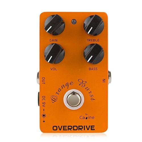 Caline CP-18 Orange Burst Overdrive Pre AMP Pedal