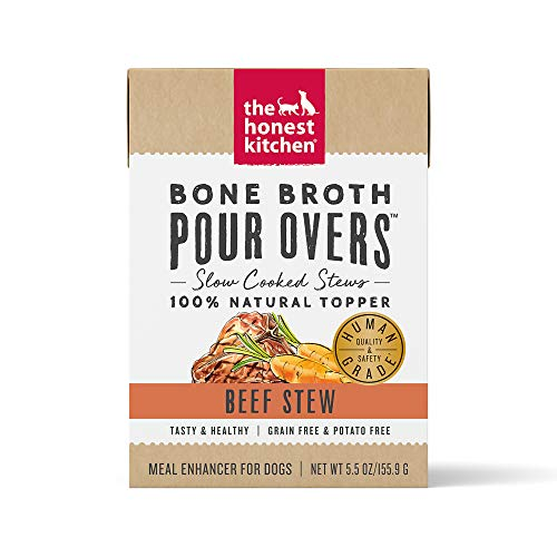 The Honest Kitchen Bone Broth POUR OVERS Wet...