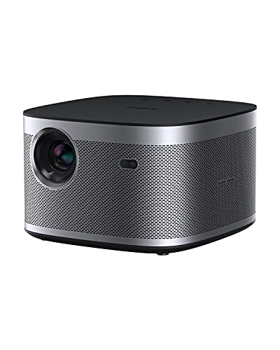 XGIMI Horizon Full HD Beamer,Hiemkino Beamer Unterstürzt 4K,2200 ANSI Lumen,DLP Beamer mit WiFi Bluetooth 8W Harman/Kardon Lautsprecher,Android TV 10.0 Videoprojektor,Autofokus,kompatibel mit HDMI