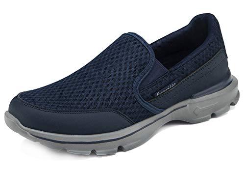 CELANDA Zapatillas Casuales para Hombre Zapatillas sin Cordones Ligeras y Transpirables Calzado Deportivo Bajas