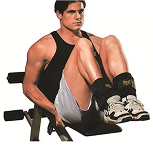 Everlast–Pesi di Box Articolo ev2754bk Ankle/Wrist 2.5LB Each, 0571960300, Unisex, Boxartikel Ev2754Bk...