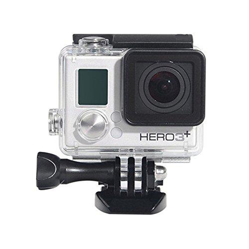 Custodia impermeabile per GoPro Hero 43Plus, custodia protettiva Rotective immersione subacquea copertura dell' alloggiamento per Go Pro Hero 43+ 3