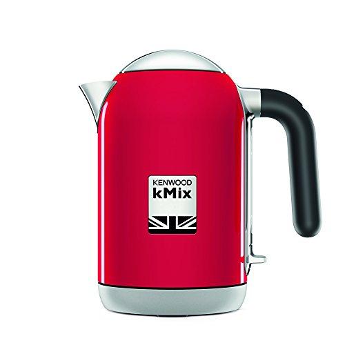 Kenwood ZJX740RD Wasserkocher kMix 2200 Watt, Metall, 1 Liter, rot