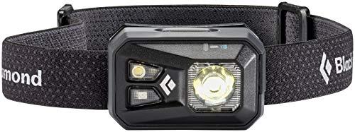 Black Diamond ReVolt Headlamp Black / Wiederaufladbare Stirnlampe mit Rotlicht, Blinklicht und dimmbarer LED / Wasserdicht nach IPX8, max. 300 Lumen