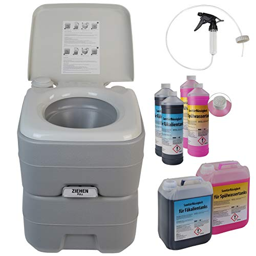 BB Sport Portable camping toilet, Optional Equipment Camping Toilets:camping toilet Fresh Deluxe