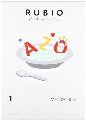 Rubio MAY - Cuaderno mayúsculas: 1 (Mayúsculas RUBIO)