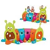 FEBER Febergus - Jeu d'exterieur en Forme de Chenille, pour Enfants de 3 à 8...