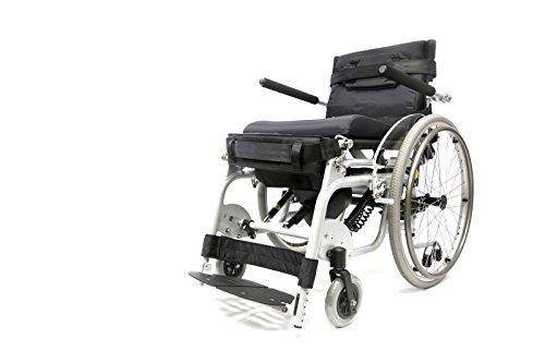 Karman Lightweight Power Standing Wheelchair Seat, Arctic Silver, 18 Inch