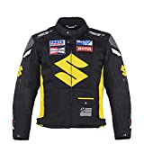 Suzuki Yellow Textile Motorcycle Jacket (XL (EU-56))