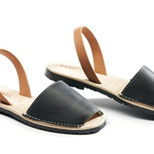 VISCATA Handmade in Spain Menorquina Soft Avarca Premium Leather Sandals