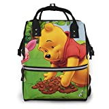 Winnie The Pooh - Mochila de viaje multifunción impermeable impermeable para maternidad