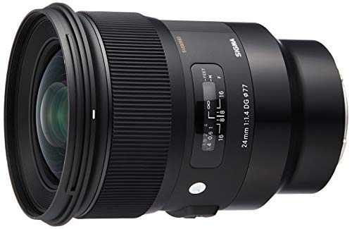 SIGMA 単焦点広角レンズ 24mm F1.4 DG HSM | Art A015 SONY-Eマウント用 ミラーレス(フルサイズ)専用
