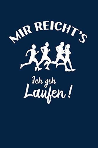 Läufer: Ich geh Laufen!: Notizbuch / Notizheft für Jogger-in Jogging Läuferin A5 (6x9in) dotted...