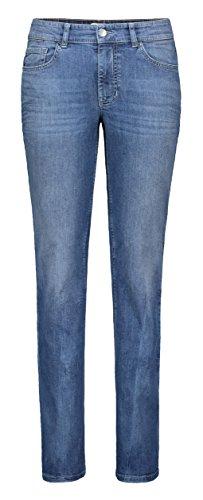 MAC Jeans Damen Melanie Straight Jeans, Blau (Blau D640), W44/L30