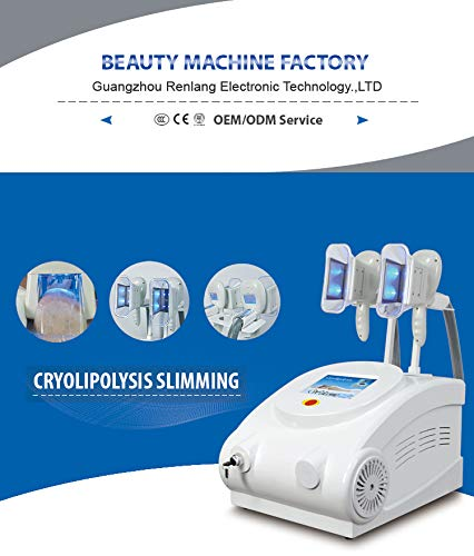 Cryolipolysis Fat Freeze Slimming Machine,Fat Freezer Body Sculpting Device + Cryolipolysis Handle for arm and Leg + Vacuum +Vibration +Blue Light 6